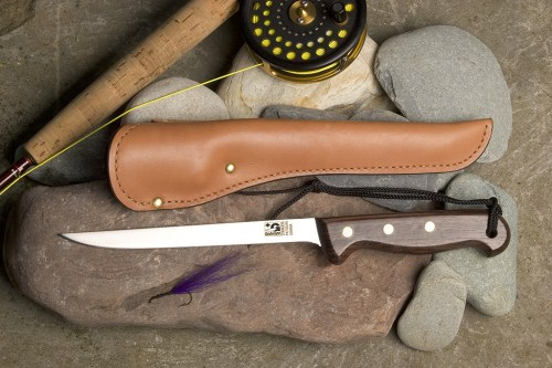 fillet with leather sheath